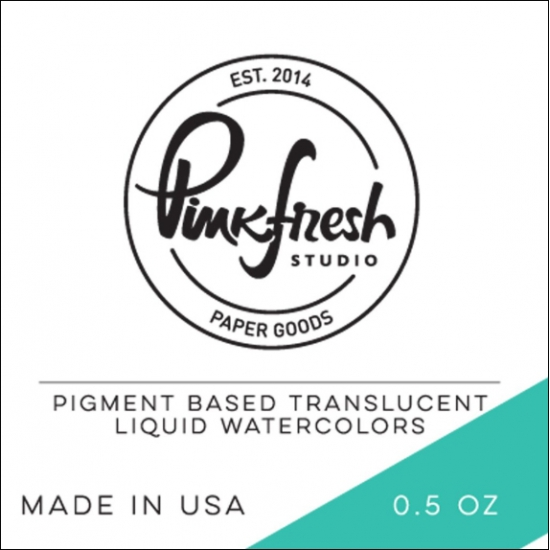 Pinkfresh Studio Watercolor Aquamarine