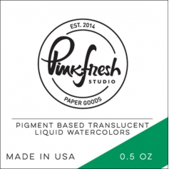Pinkfresh Studio Watercolor Emerald City