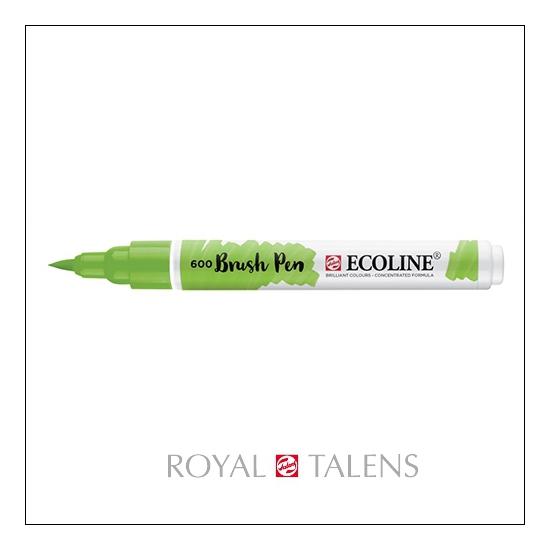 Royal Talens Ecoline Brush Pen Green 600