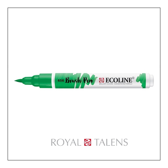 Royal Talens Ecoline Brush Pen Forest Green 656