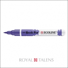 Royal Talens Ecoline Brush Pen Ultramarine Violet 507