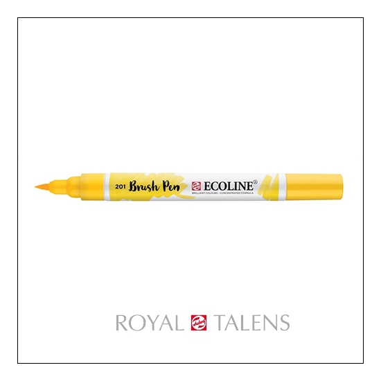 Royal Talens Ecoline Brush Pen Light Yellow 201