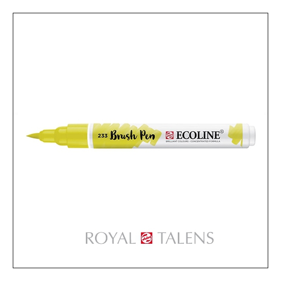 Royal Talens Ecoline Brush Pen Chartreuse 233