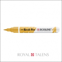 Royal Talens Ecoline Brush Pen Yellow Ochre 227
