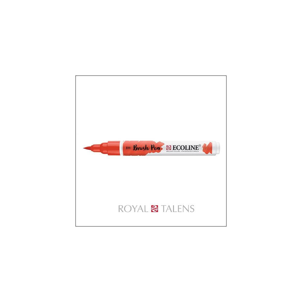 Royal Talens Ecoline Brush Pen Vermilion 311
