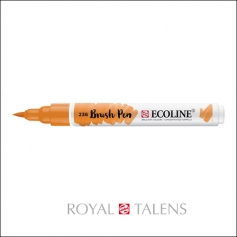 Royal Talens Ecoline Brush Pen Light Orange 236