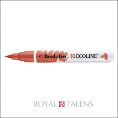 Royal Talens Ecoline Brush Pen Burnt Sienna 411