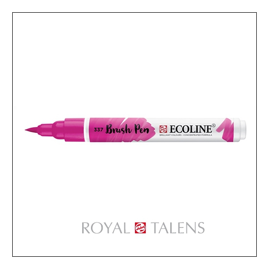 Royal Talens Ecoline Brush Pen Magenta 337