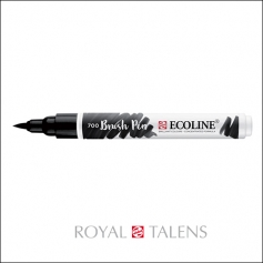 Royal Talens Ecoline Brush Pen Black 700
