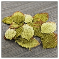 Prima Marketing Fabric Leaves Lovely