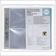 We R Memory Keepers Albums Made Easy Photo Page Protectors 4 inch Instagram 2 inch Pockets
