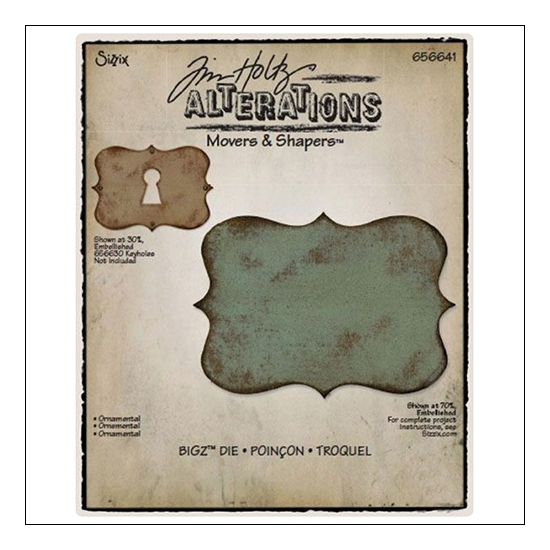 Sizzix Tim Holtz Alterations Movers and Shapers Ornamental