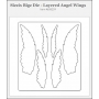 Sizzix Tim Holtz Alterations Bigz Die Layered Angel Wings